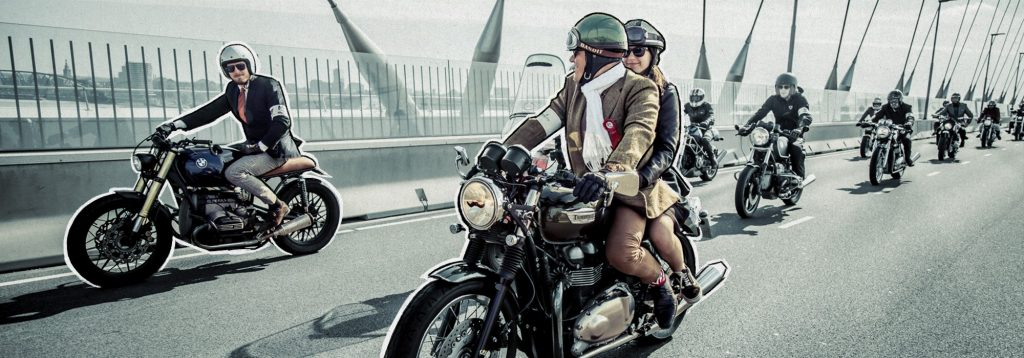 DGR - Distinguished Gentleman's Ride - Official picture